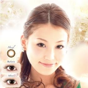 Neo sight 1day Ring Colors ヘーゼル ネオサイトワンデーリングカラーズ(30枚入り) 1日使い捨て (コンタクトレンズ)(コンタクト)(ワンデーカラコン)
