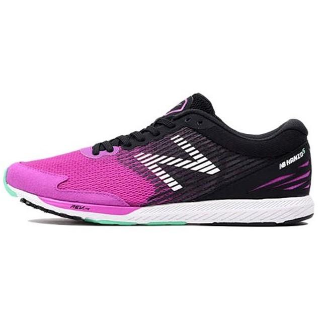 ニューバランス(newbalance) レディース NB HANZOS W ランニングシューズ WHANZSV2D VIOLET/BLACK スニーカー ジョギング ランニング シューズ 靴