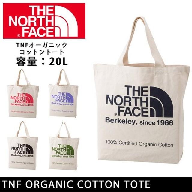 ノースフェイス THE NORTH FACE トートバック TNFオーガニックコットントート TNF ORGANIC COTTON TOTE nm81616【NF-BAG】【メール便・代引不可】