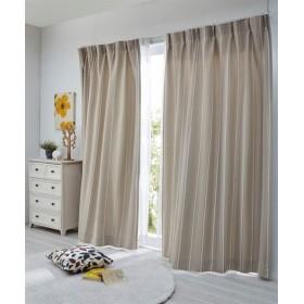 【1cm単位オーダー】カスケードストライプ柄遮光カーテン(1枚) ドレープカーテン(遮光あり・なし) Curtains, 窗, 窗簾