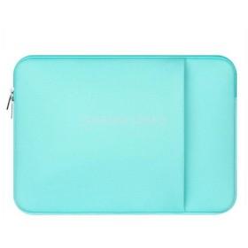 ノーブランド品  MacBook Pro/ Air対応  ラップトップバッグ スリーブケース 収納 保護 ジッパー設計 全3色4サイズ - 緑, 11インチ