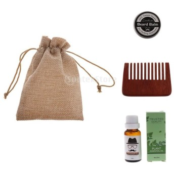 ビアドルーム ビアブラシ コーム ビアードオイル 保管袋 天然 髭 保湿オイル ブラシ 櫛 バッグ
