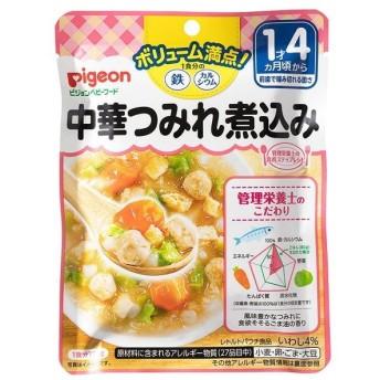◆ピジョン 食育レシピ鉄Ca 中華つみれ煮込み 120g【3個セット】