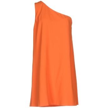 《セール開催中》ALICE + OLIVIA レディース ミニワンピース&ドレス オレンジ XS 100% ポリエステル