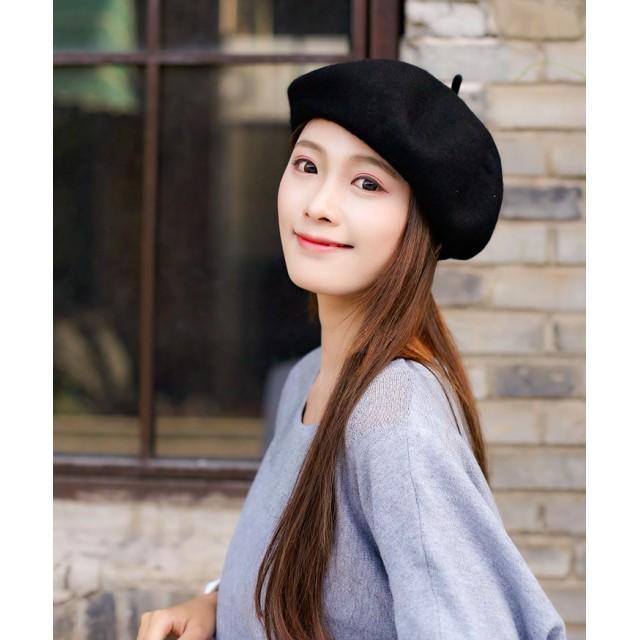 0eb494b932ba0b ベレー帽 - REAL STYLE シンプル 調整紐付き ベレー帽 レディース メンズ ベレー帽 帽子 ぼうし