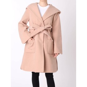 [OUTLET LIMITED ITEM]【MERCURYDUO】フードガウンコート