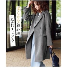 アウター ロング丈 ダブル チェスターコート S/M/L ニッセン nissen