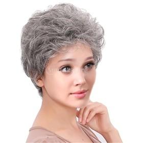 フルウィッグ かつら 10インチ 短い 自然に見える 人間の髪 日常 通勤 おしゃれ 成熟 魅力的
