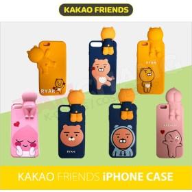 【カカオフレンズ】★KAKAO FRIENDS 3D iPhoneケース★カカオフレンズ スマホケース★5/SE☆6☆6plus☆7/8☆7/8plus☆X☆