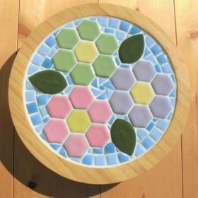 鍋敷き(ヘキサゴンタイル)