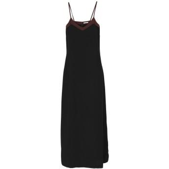 《セール開催中》RUE8ISQUIT レディース ロングワンピース&ドレス ブラック 40 100% ポリエステル