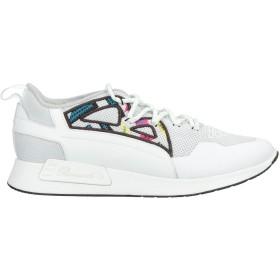 《セール開催中》BARRACUDA メンズ スニーカー&テニスシューズ(ローカット) ホワイト 45 紡績繊維 / 革