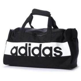 アディダス adidas ダッフルバッグ リニアロゴチームバッグS S99954 491 (ブラック)