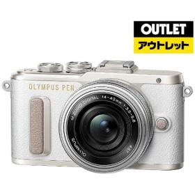 ミラーレス一眼レフカメラ PEN E-PL8 14-42mm EZレンズキット(ホワイト)