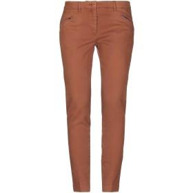 《セール開催中》INCOTEX レディース パンツ 赤茶色 28 コットン 98% / ポリウレタン 2%