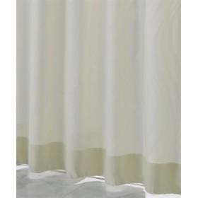 【1cm単位オーダー】ウェーブ柄カーテン(1枚) ドレープカーテン(遮光あり・なし)