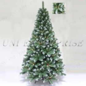 【送料無料】! クリスマスツリー Funderful 210cmクリスマスツリー(木の実装飾付、葉先白) クリスマス 飾り ヌードツリー ホワイトツリ