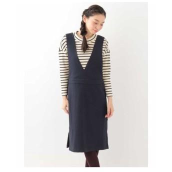 Jocomomola ホコモモラ / VELVETTY ジャンパースカート