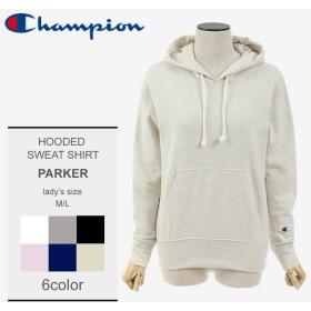 CHAMPION チャンピオン パーカー フーデットスウェットシャツ CW-K108 レディース