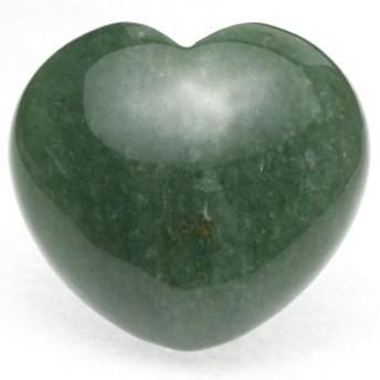 【天然石 置き石】ハート型 L 約40×45mm アベンチュリン ※ネコポス不可※ パワーストーン