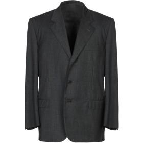 《期間限定セール開催中!》BARTON メンズ テーラードジャケット スチールグレー 54 バージンウール 100%