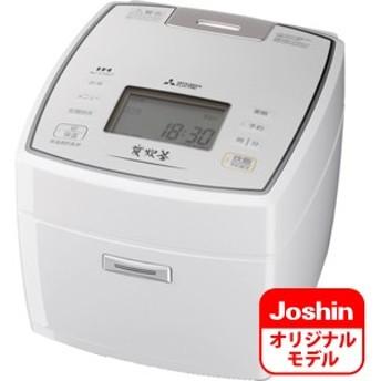 三菱 NJ-V10J7-W IHジャー炊飯器(5.5合炊き) ピュアホワイトMITSUBISHI NJ-VV109のJoshinオリジナルモデル[NJV10J7W]【返品種別A】