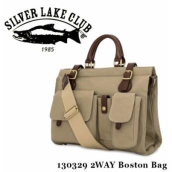 シルバーレイククラブ SILVER LAKE CLUB ボストンバッグ 130329 9号帆布 2WAY ショルダーバッグ メンズ 撥水性