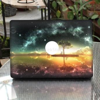 Perfk New MacBook Pro 13.3インチに対応 ラップトップ スキン ステッカー カバー アート デカール プロテクター 取り外し可能 全5タイプ - タイプ1