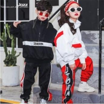 キッズダンス衣装 HIPHOP ダンス 衣装 キッズ ヒップホップ ダンスパンツ キッズ セットアップ ダンス ヒップホップ ダンス 衣装 韓国