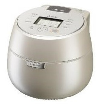 MITSUBISHI 炊飯器 IH炊飯ジャー 本炭釜 5.5合 白和三盆 NJ-AW109-W 三菱