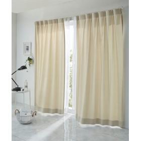 【1cm単位オーダー】ピンウェーブ柄カーテン(1枚) ドレープカーテン(遮光あり・なし) Curtains, 窗, 窗簾