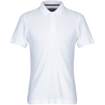 《9/20まで! 限定セール開催中》AERONAUTICA MILITARE メンズ ポロシャツ ホワイト XL コットン 100%