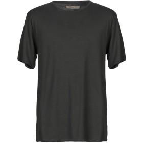 《期間限定 セール開催中》SUIT メンズ T シャツ スチールグレー S オーガニックコットン 100%