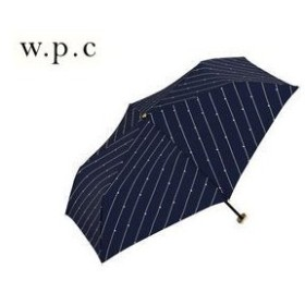 【nightsale】 Wpc./ワールドパーティー  275-117NV 折りたたみ傘 手開き 日傘/晴雨兼用 星チェーン UVカット 80%以上 【50cm】 (ネイビー)