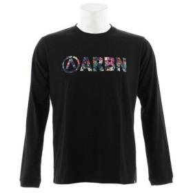 エアボーン(ARBN) BOTANICAL LOGO 長袖Tシャツ AB93AW1112 BLK (Men's)