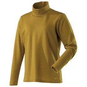 ミズノ ブレスサーモ ボーダーハイネックシャツ レディース A2MA874047