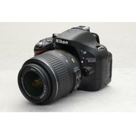 [中古] デジタル一眼レフカメラ Nikon D5200 18-55VR レンズキット ブラック