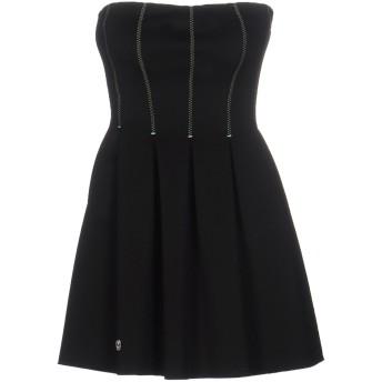 《セール開催中》PHILIPP PLEIN レディース ミニワンピース&ドレス ブラック XS レーヨン 65% / ナイロン 30% / ポリウレタン 5%