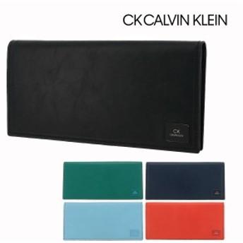 シーケー カルバンクライン 長財布 ワキシー メンズ 809624 CK CALVIN KLEIN 牛革 本革 レザー ブランド専用BOX付き