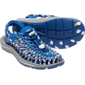 キーン KEEN Womens Uneek Flat Blue Raven