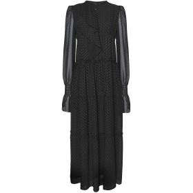 《セール開催中》8 by YOOX レディース ロングワンピース&ドレス ブラック 38 ポリエステル 100%