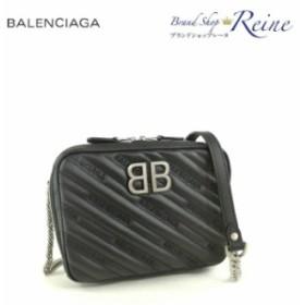 新品 バレンシアガ(BALENCIAGA) BB レポーター XS マトラッセ チェーンショルダー バッグ 526678
