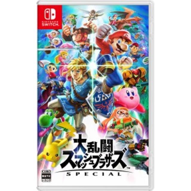 新品【Switch】大乱闘スマッシュブラザーズ SPECIAL