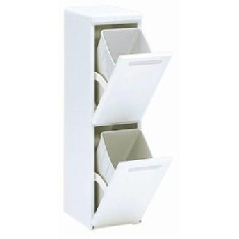 ダストボックス CLD-121W 送料無料 ダストボックス ゴミ箱 ごみ箱 分別 2段 ダストボックスごみ箱