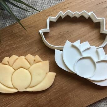 蓮の花 クッキーカッター/クッキー型