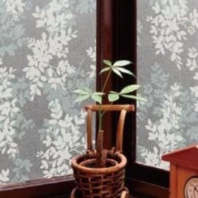 空気が抜けやすい窓飾りシート(プリントタイプ) 92cm幅×15m巻 W(ホワイト) GDPR-9231