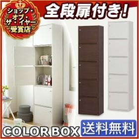 カラーボックス A4 5段 扉付き CX-55FD アイリスオーヤマ 送料無料  収納ボックス 本棚