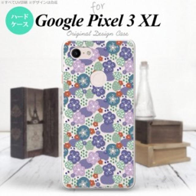 Google Pixel 3 XL ピクセル 3 XL 専用 スマホケース ハードケース 春花 シック nk-px3x-1706