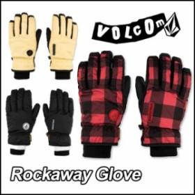 VOLCOM ボルコム スノー グローブ メンズ 15-16 Rockaway Glove 「メール便不可」 【返品種別SALE】