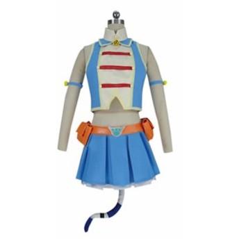 僕のヒーローアカデミア ピクシーボブ 風★ コスプレ衣装  完全オーダメイドも対応可能  K4703